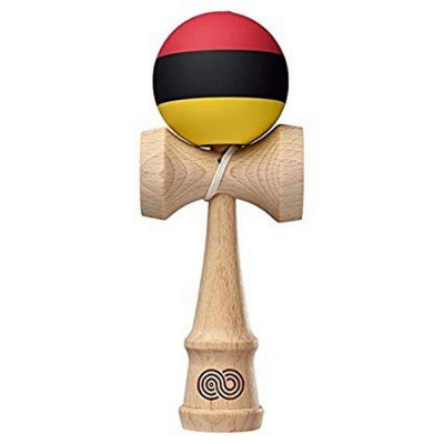 Кендама Kendama USA / Kaizen Trip Split Red Black Yellow